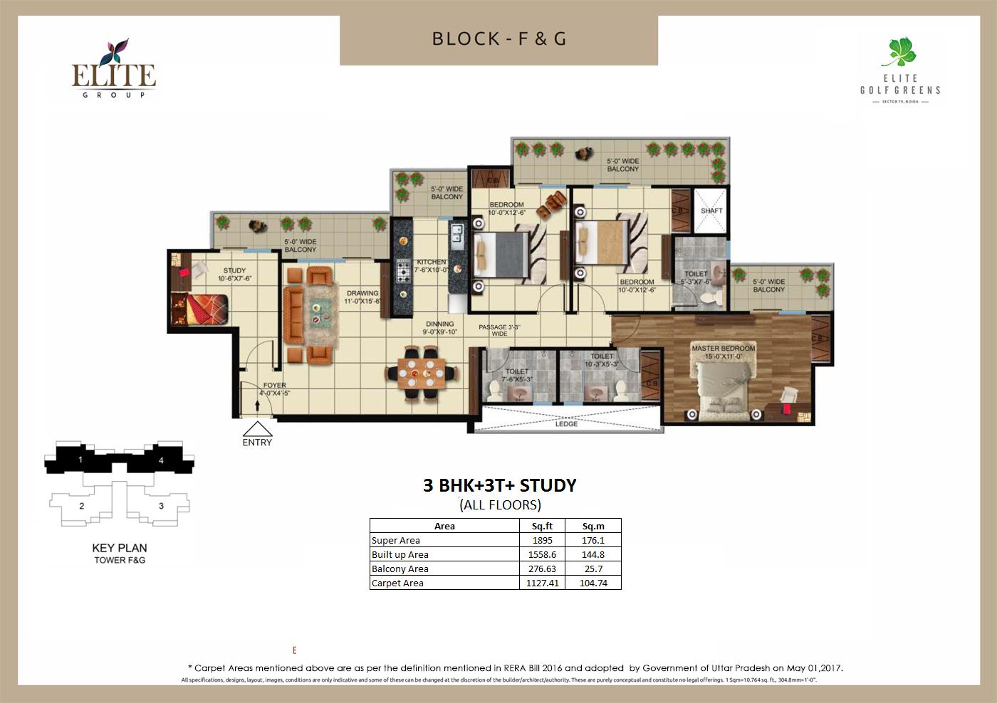 EliteGolf Greens Floor Plan 6
