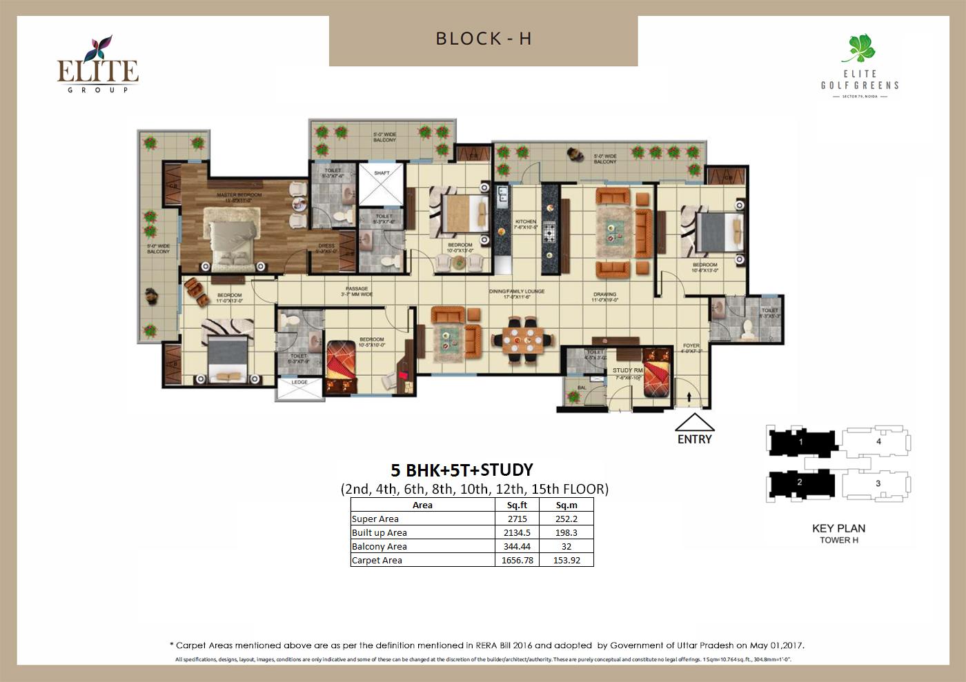 EliteGolf Greens Floor Plan 8
