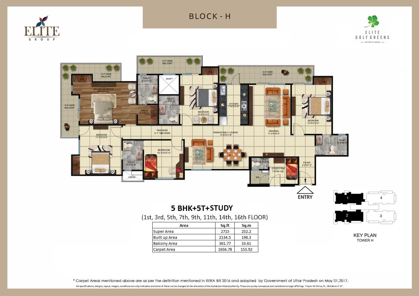 EliteGolf Greens Floor Plan 9